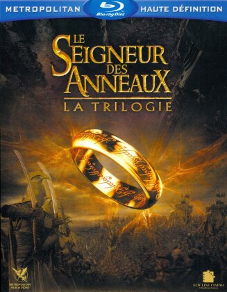 Le seigneur des anneaux - La Trilogie (3 Blu-ray + 3 DVD)