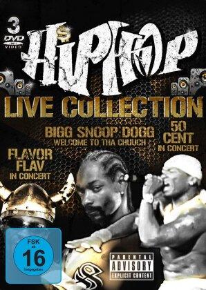 Various Artists - Hip Hop Live Collection (3 DVDs)