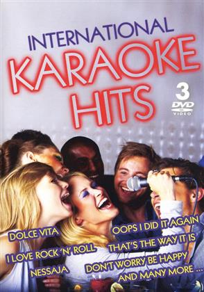 Karaoke - Karaoke Hits - International (3 DVDs)