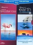 Earth (2007) / Il mistero dei fenicotteri rosa (2008) (2 Blu-rays)