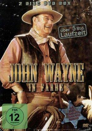 John Wayne in Farbe - Teil 1 & 2 (Steelbook, 3 DVDs)