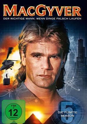 MacGyver - Staffel 5 (6 DVDs)
