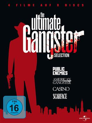 The Ultimate Gangster Selection - Public Enemies / American Gangster / Casino / Scarface (8 DVDs)