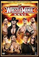 WWE: Wrestlemania 26 (Collector's Edition, 3 DVDs)
