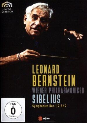 Wiener Philharmoniker & Leonard Bernstein (1918-1990) - Sibelius - Symphonies Nos. 1, 2, 5 & 7 (C-Major, Unitel Classica, 2 DVDs)