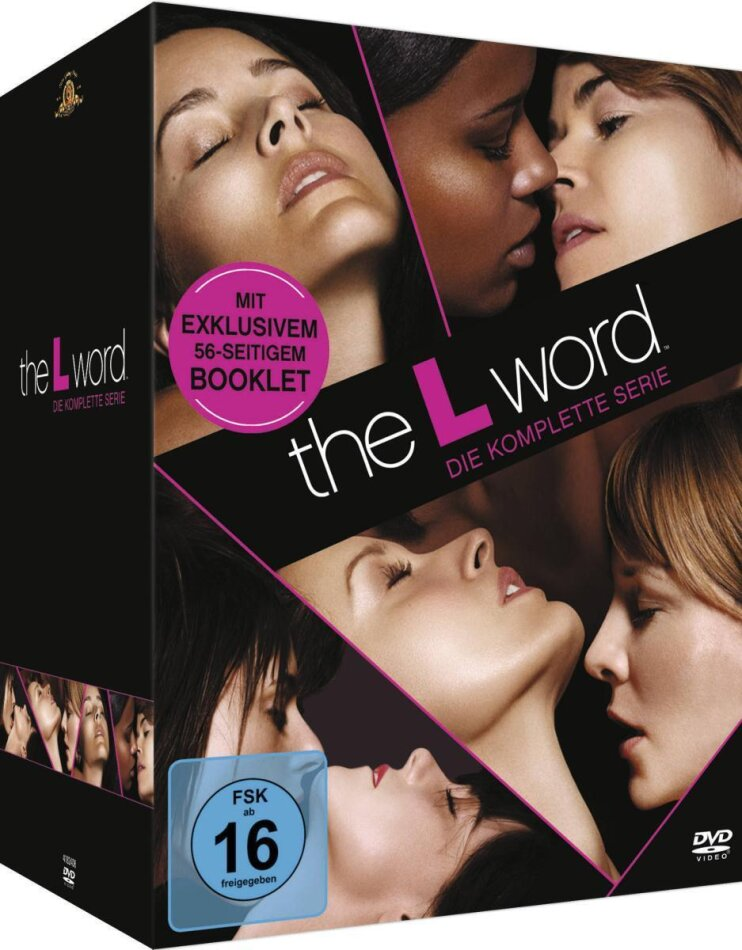 The L-Word - Complete Box Staffeln 1-6 (23 DVDs)