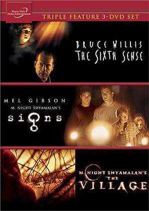 Signs / The Village / The Sixth Sense (3 DVDs)