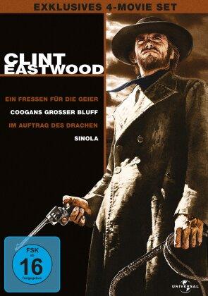 Clint Eastwood - Exklusives 4-Movie Set (Neuauflage, 4 DVDs)