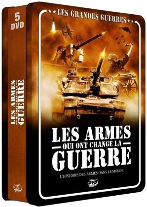 Les grandes guerres - Les armes qui ont change la guerre (Steelbook, 5 DVDs)
