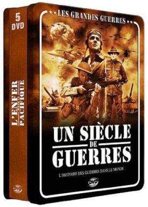 Les grandes guerres - Un siècle de guerres (Steelbook, 5 DVD)