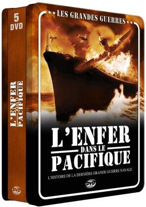 Les grandes guerres - L'enfer dans le pacifique (Steelbook, 5 DVD)