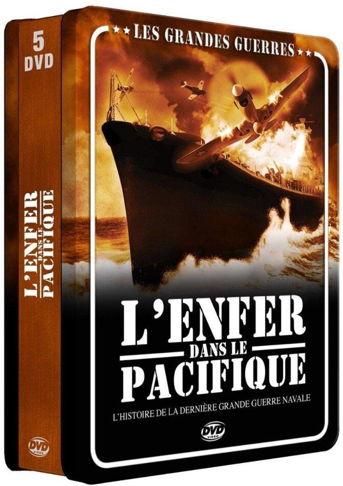 Les grandes guerres - L'enfer dans le pacifique (Steelbook, 5 DVDs)
