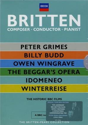 Various Artists - Britten: Composer - Conductor - Pianist (Decca, The Britten-Pears Collection, 7 DVDs)