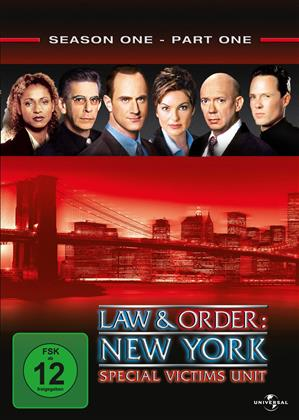 Law & Order - Special Victims Unit - Staffel 1.1 (3 DVDs)