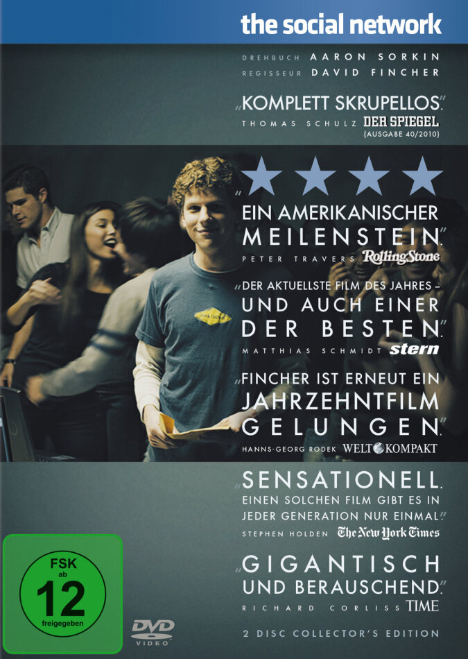 The Social Network - The Facebook Movie (2010) (2 DVDs)