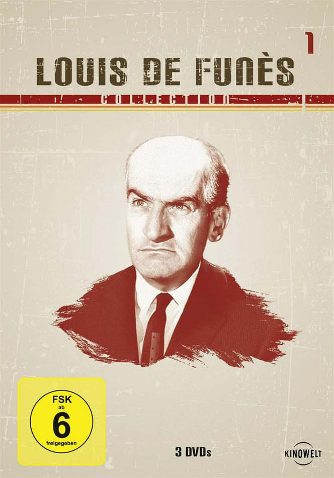 Louis de Funès Collection 1 - (Kinowelt Edition Box 3 DVDs)