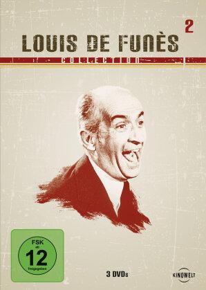 Louis de Funès Collection 2 - (Kinowelt Edition Box 3 DVDs)