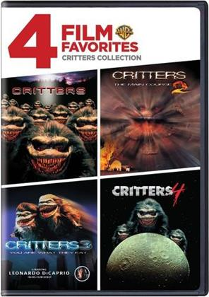 Critters Collection - 4 Film Favorites (2 DVDs)