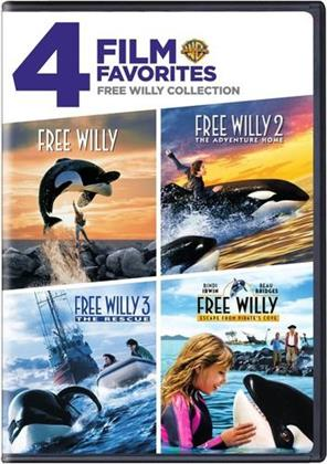Free Willy Collection - 4 Film Favorites (2 DVDs)