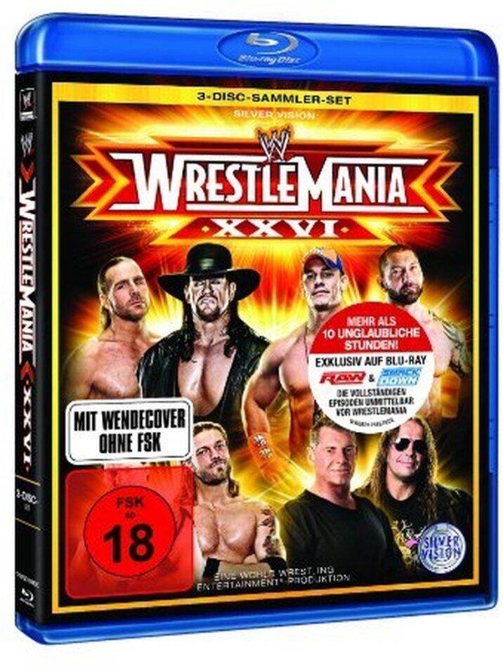 WWE: Wrestlemania 26 (3 Blu-rays)
