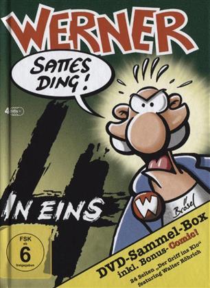 Werner - 4 in Eins (4 DVDs)