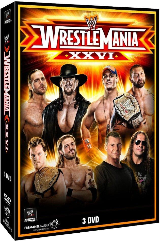 WWE: Wrestlemania 26 (3 DVDs)