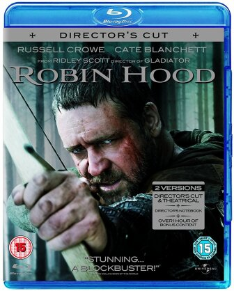 Robin Hood (2010) (Director's Cut, Extended Edition, 2 Blu-rays)