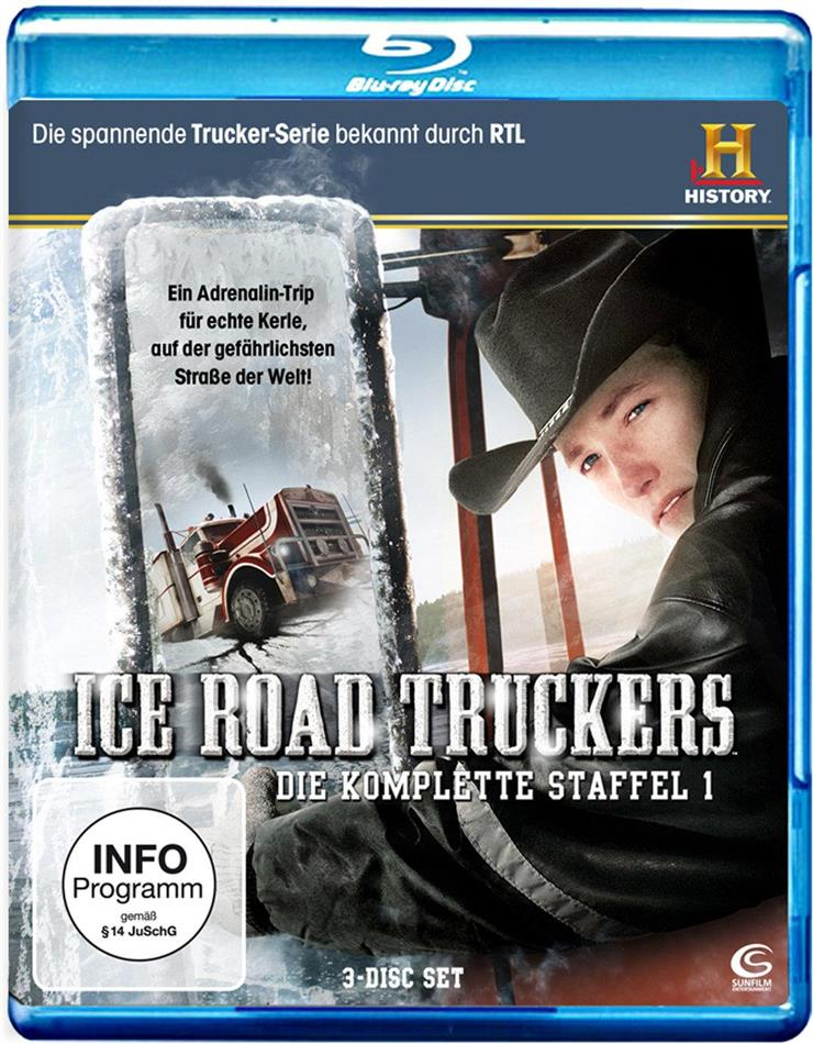 Ice Road Truckers - Staffel 1 (3 Blu-rays)