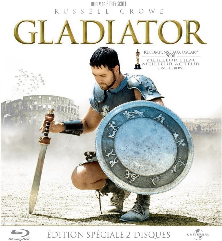 Gladiator (2000) (10th Anniversary Edition, 2 Blu-rays)