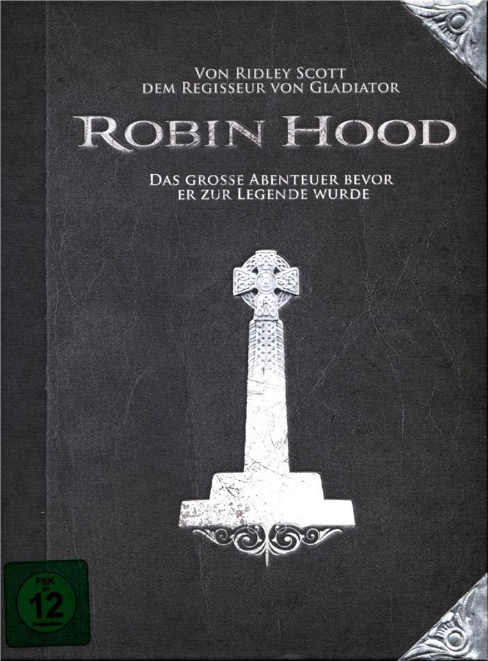 Robin Hood (2010) (Box, Collector's Edition, Steelbook, 2 Blu-rays)