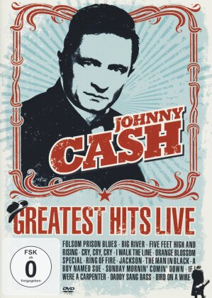 Johnny Cash - Greatest Hits Live