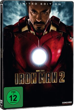 Iron Man 2 (2010) (Limited Edition, Steelbook, 2 DVDs)
