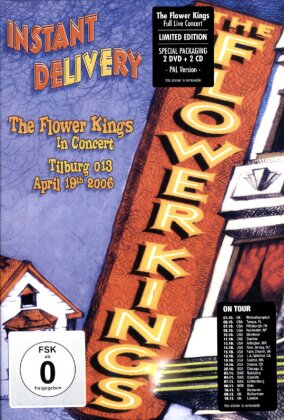 Flower Kings - Instant delivery (Limited Edition, 2 DVDs + 2 CDs)