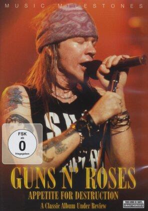 Guns N' Roses - Music Milestones - Appetite for Destruction