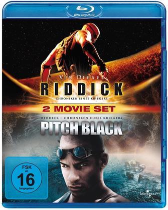 Pitch Black / Riddick - Chroniken eines Kriegers (2 Blu-rays)