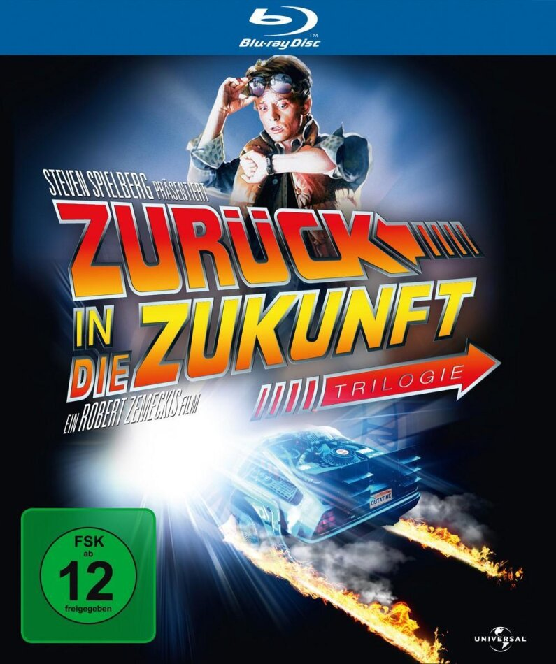Zurück in die Zukunft - Trilogie (25th Anniversary Edition, 3 Blu-rays)