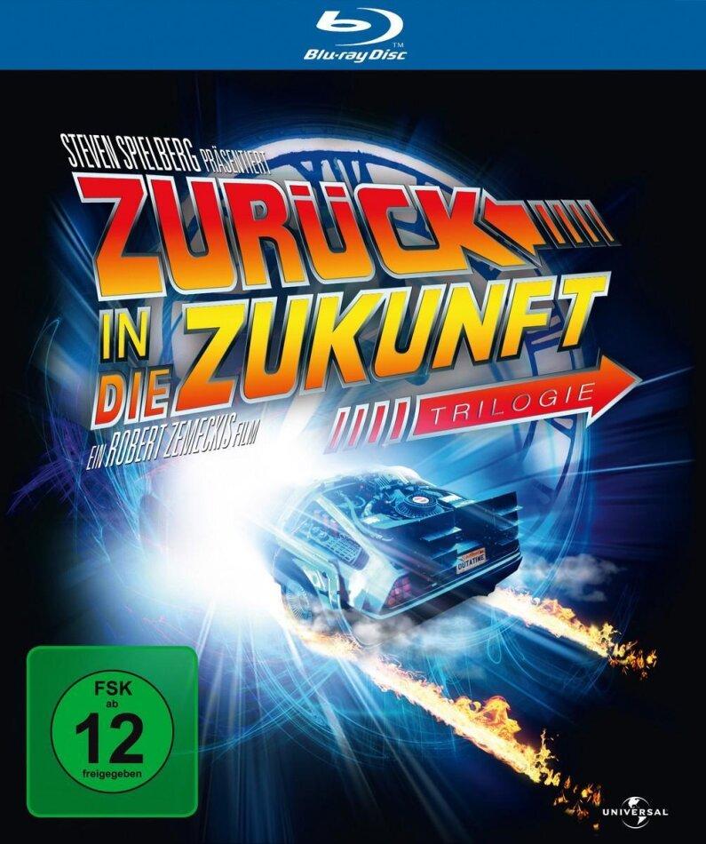Zurück in die Zukunft - Trilogie (Limitierte 25th Anniversary Edition inkl. Miniatur DeLorean)