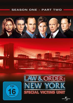 Law & Order - Special Victims Unit - Staffel 1.2 (3 DVDs)