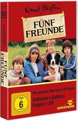 Fünf Freunde (Die original 70er Jahre TV-Serie) - Folge 1 - 26 (Édition Collector, Version Remasterisée, Uncut, 6 DVD)