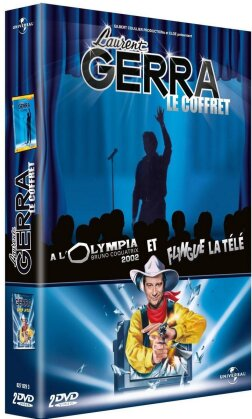 Laurent Gerra - A l'Olympia 2002 / Flingue la télé (2 DVD)