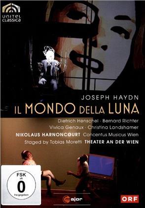 Concentus Musicus Wien, Nikolaus Harnoncourt, … - Haydn - Il mondo della luna (2 DVDs)