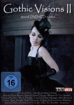 Various Artists - Gothic Visions 2 (DVD + CD)