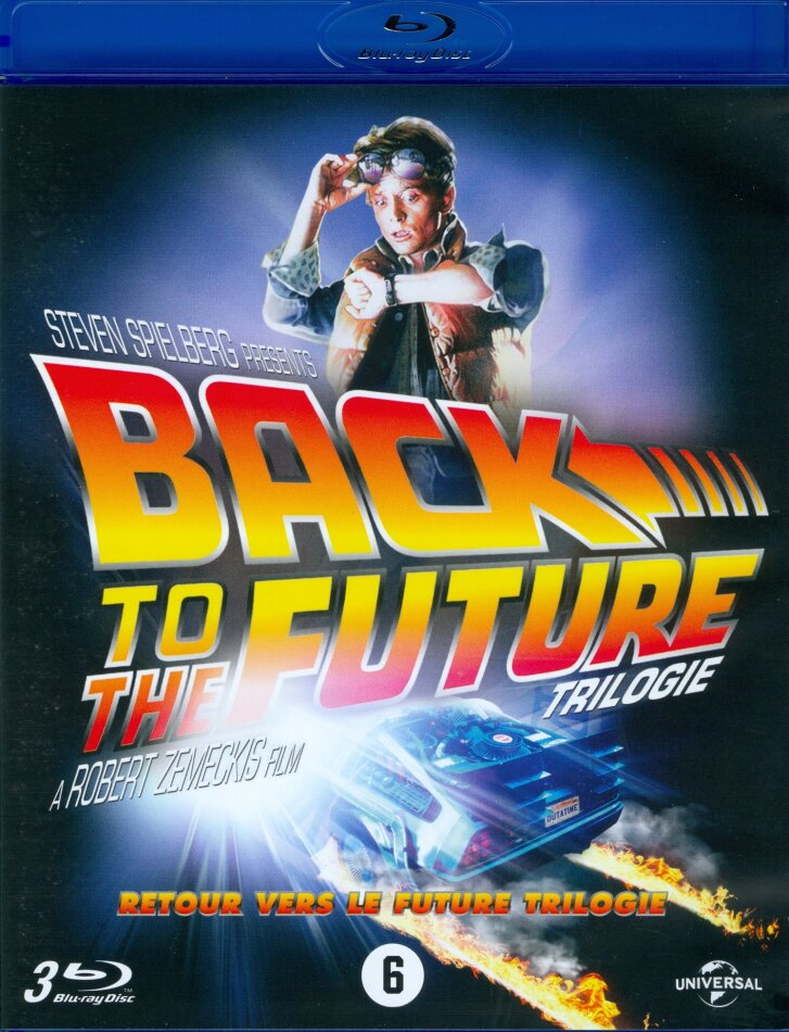 Back to the Future - Trilogie (Standard Edition, 3 Blu-rays)