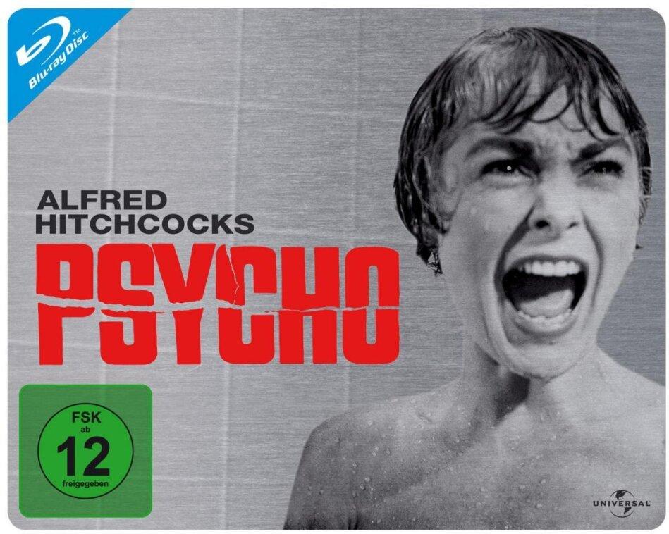 Psycho - (Querformat) (1960) (n/b, Steelbook)