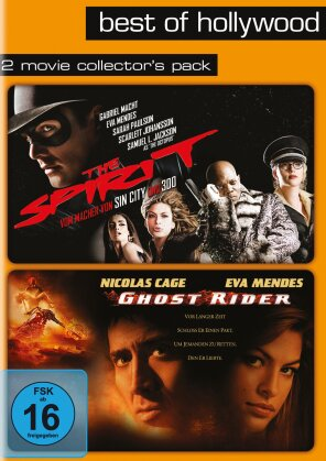 The Spirit (2009) / Ghost Rider (2007) (Best of Hollywood, 2 Movie Collector's Pack)