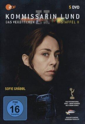 Kommissarin Lund - Staffel 2 - Das Verbrechen (5 DVDs)