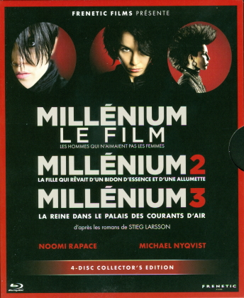Millénium Trilogie (4 Blu-ray)