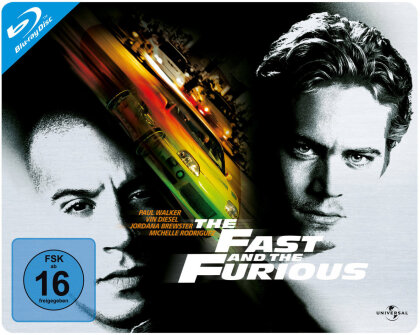 The Fast and the Furious - (Querformat) (2001) (Steelbook)