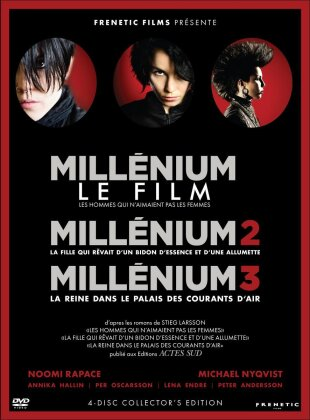 Millénium Trilogie (Collector's Edition, 4 DVD)