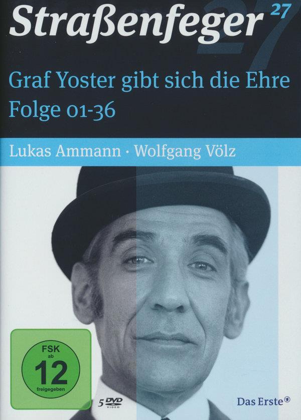 Strassenfeger Vol. 27 - Graf Yoster gibt sich die Ehre Folge 1-36 (5 DVD)